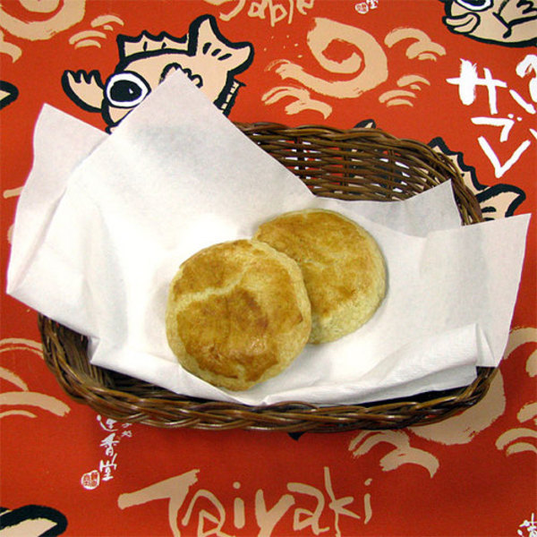 落花生パイ饅頭